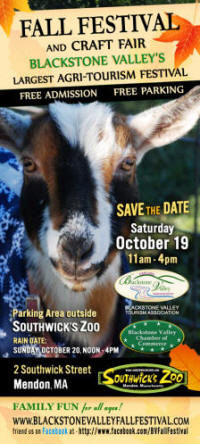 Blackstone Valley Fall Family Festival